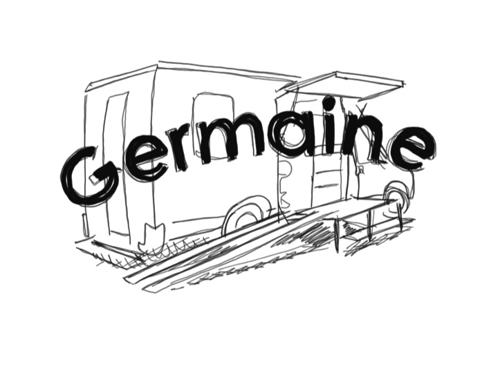 Germaine, le café mobile